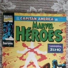 Cómics: EL CAPITAN AMERICA EN MARVEL HEROES, Nº 53, COMICS FORUM. Lote 112167291