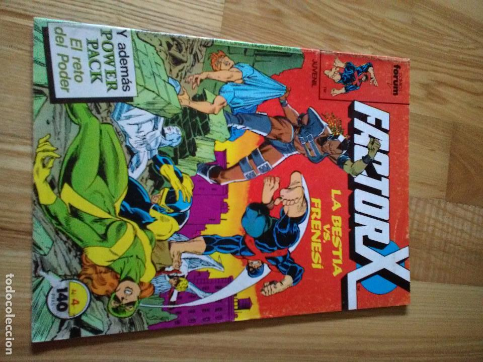 COMIC FORUM MARVEL FACTOR X VOLUMEN 1 NUMERO 4 (Tebeos y Comics - Forum - Factor X)