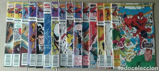 Cómics: Lote Spiderman (Comics Forum): 84 números entre el 57 y el 299 (ver descripción) - Foto 8 - 84500783