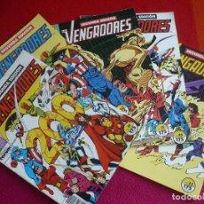 Cómics: LOS VENGADORES SEGUNDA EDICION NºS 19, 20, 21, 22 Y 23 ¡BUEN ESTADO! FORUM MARVEL. Lote 112206095