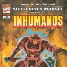 Cómics: SELECCIONES MARVEL Nº 18 INHUMANOS RETORNO A LA TIERRA - FORUM - COMO NUEVO - C04. Lote 112241803