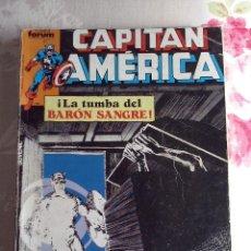 Cómics: FORUM - CAPITAN AMERICA RETAPADO CON LOS NUM. 11-12-13-14-15. Lote 112328811