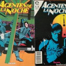 Cómics: AGENTES DE LA NOCHE 2 Y 4. Lote 112392584