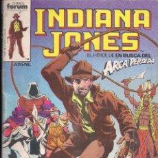Cómics: INDIANA JONES TOMO RECOPILATORIO CONTIENE LOS NUMEROS 1,2,3,4,5. Lote 112448335