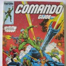 Cómics: COMANDO G.I.JOE - RETAPADO CON LOS 5 PRIMEROS NUMEROS. Lote 112451359