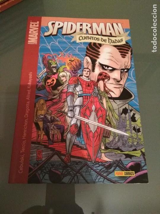 Cómics: Spiderman Stan Lee y Steve Ditko completa y varios tomos, cuentos de hadas panini 100% - Foto 18 - 112467631