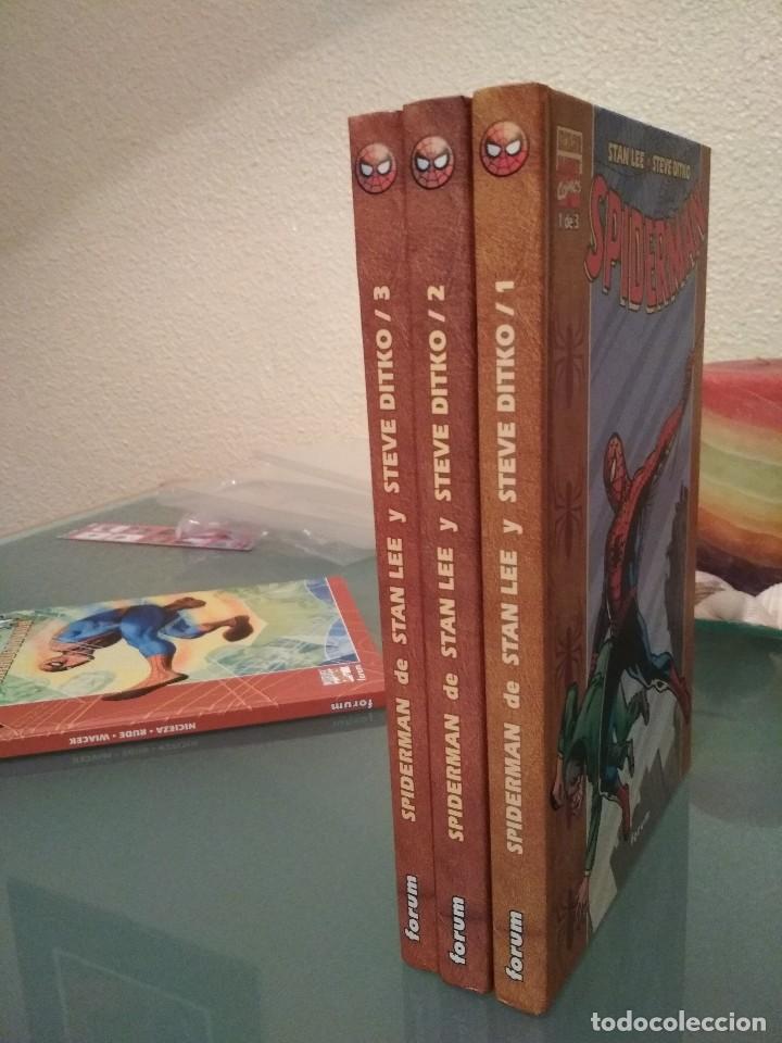 Cómics: Spiderman Stan Lee y Steve Ditko completa y varios tomos, cuentos de hadas panini 100% - Foto 28 - 112467631