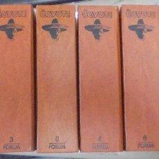 Cómics: COLECCION EL COYOTE. 8 VOLUMENES. EDICIONES FORUM. ILUSTRADO. 1983. VER FOTOS. LEER. Lote 112504219