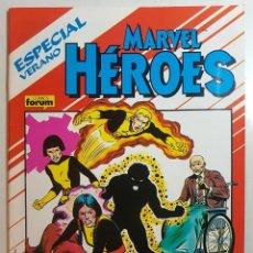 MARVEL HEROES - ESPECIAL VERANO 1988 - NOVELA GRÁFICA DE LOS NUEVOS MUTANTES 1ª APARICIÓN