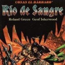 Cómics: CONAN EL BARBARO - RIO DE SANGRE - FORUM - IMPECABLE. Lote 112752315