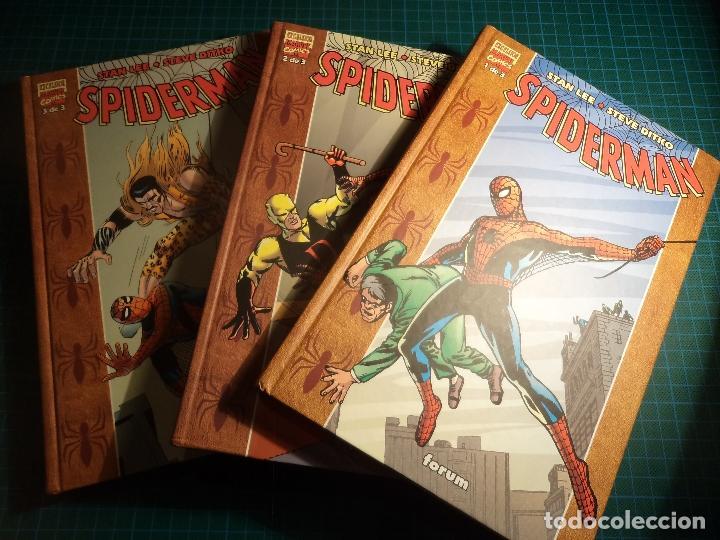 SPIDERMAN. EXCELSIOR. COMPLETA. 3 TOMOS. FORUM. (M-14) (Tebeos y Comics - Forum - Spiderman)