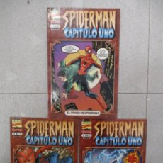 Cómics: EL ORIGEN DE SPIDERMAN COLECCION COMPLETA 3 EJEMPLARES MARVEL COMICS . Lote 112905187