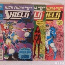 Nick Furia Agente de SHIELD Nº 2,12 y 13