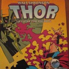 Cómics: WALT SIMONSON--LA LUCHA POR ASGARD-1. Lote 112922935