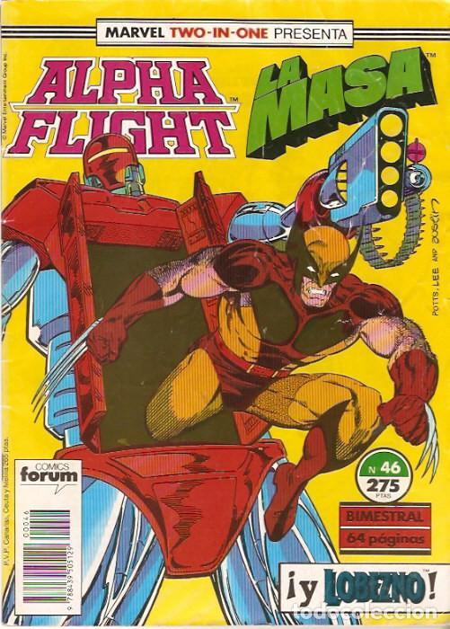 MARVEL TWO-IN-ONE: ALPHA FLIGHT & LA MASA 46 FORUM (Tebeos y Comics - Forum - Alpha Flight)