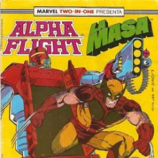 Cómics: MARVEL TWO-IN-ONE: ALPHA FLIGHT & LA MASA 46 FORUM. Lote 112979287