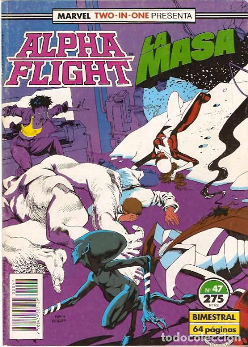MARVEL TWO-IN-ONE: ALPHA FLIGHT & LA MASA 47 FORUM (Tebeos y Comics - Forum - Alpha Flight)