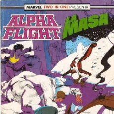 Cómics: MARVEL TWO-IN-ONE: ALPHA FLIGHT & LA MASA 47 FORUM. Lote 112979331