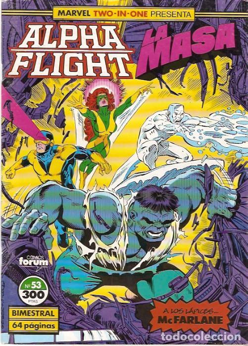 MARVEL TWO-IN-ONE: ALPHA FLIGHT & LA MASA 53 FORUM (Tebeos y Comics - Forum - Alpha Flight)