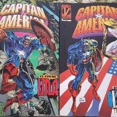 Cómics: CAPITÁN AMERICA: EL FIN DE I.M.A (OBRA COMPLETA 2 TOMOS) - FORUM. Lote 113105699
