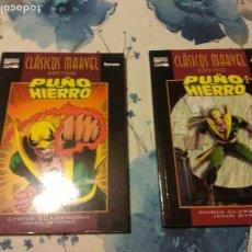 Cómics: CLASICOS MARVEL PUÑO DE HIERRO 1 Y 2 COMPLETA FORUM. Lote 113116867