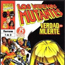 Cómics: LOS NUEVOS MUTANTES: VERDAD O MUERTE -RAAB·CHANG·PENNINGTON. Lote 113163827