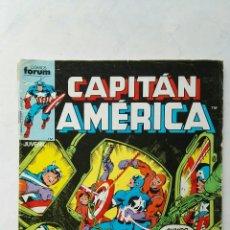 Cómics: CAPITÁN AMÉRICA N° 9 CÓMICS FORUM MARVEL 1985. Lote 113210182