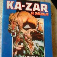 Cómics: KA - ZAR, EL SALVAJE .1 A 3 . OBRA COMPLETA (FORUM, 1999). Lote 113230547