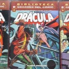 Cómics: DRACULA - BIBLIOTECA GRANDES DEL COMIC. Lote 108676235