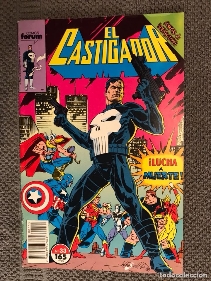 Marvel Comics  EL CASTIGADOR  No 33 (a 1990)