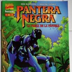 Cómics: PANTERA NEGRA: LA PRESA DE LA PANTERA 1 DE DON MCGREGOR, DWAYNE TURNER . Lote 113353027