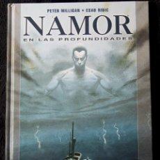 Comics : NAMOR EN LAS PROFUNDIDADES PETER MILLIGAN ESAD RIBIC MARVEL GRAPHIC NOVEL PANINI 2009. Lote 113356351