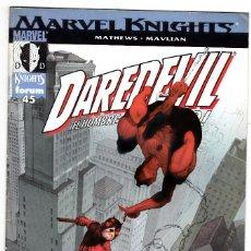 Cómics: DAREDEVIL EL HOMBRE SIN MIEDO - MARVEL KNIGHTS Nº 45. Lote 113373919
