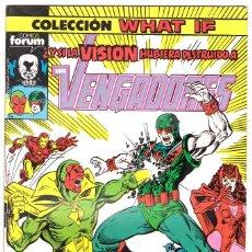 Cómics: COLECCIÓN WHAT IF ¿Y SI LA VISIÓN HUBIERA DESTRUIDO A LOS VENGADORES? Nº 11. Lote 113376375