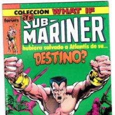 Cómics: COLECCIÓN WHAT IF - Nº 3 - ED. FORUM 1983 NAMOR. Lote 113376739