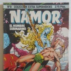 Cómics: EXTRA SUPERHEROES 9: NAMOR (FORUM, 1985). Lote 113406323