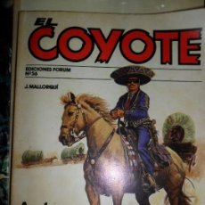 Cómics: EL COYOTE Nº 36, J. MALLORQUÍ, ED. FORUM. Lote 113421715