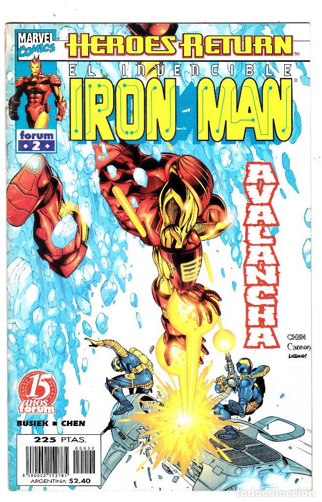 EL INVENCIBLE IRON MAN VOL 4 Nº 2 - HEROES RETURN - FORUM (Tebeos y Comics - Forum - Iron Man)