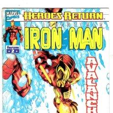 Cómics: EL INVENCIBLE IRON MAN VOL 4 Nº 2 - HEROES RETURN - FORUM. Lote 113448227