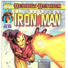Cómics: EL INVENCIBLE IRON MAN VOL 4 Nº 1 - HEROES RETURN - FORUM. Lote 113448283