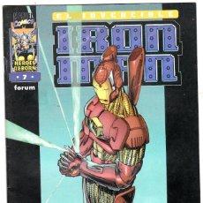 Cómics: IRON MAN - HEROES REBORN - Nº 7 - FORUM - . Lote 113448611