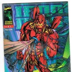 Cómics: IRON MAN - HEROES REBORN - Nº 1 - FORUM - . Lote 113448747