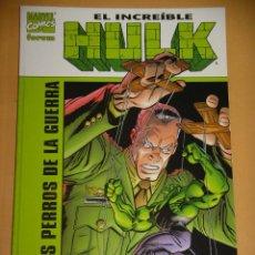 Cómics: EL INCREIBLE HULK, LOS PERROS DE LA GUERRA, JENKINS GARNEY BUSCEMA, FORUM, TOMO PRESTIGE. Lote 113518879
