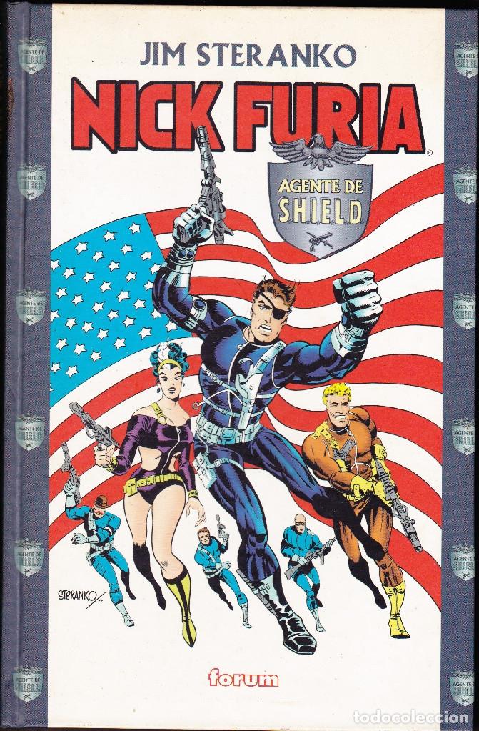 NICK FURIA, AGENTE DE SHIELD POR JIM STERANKO, JACK KIRBY,... 252 PAGS. TAPA DURA FORUM (Tebeos y Comics - Forum - Furia)