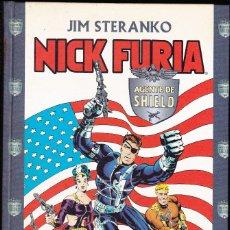 Cómics: NICK FURIA, AGENTE DE SHIELD POR JIM STERANKO, JACK KIRBY,... 252 PAGS. TAPA DURA FORUM. Lote 94632791