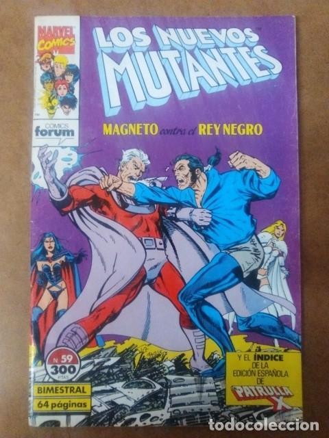 LOS NUEVOS MUTANTES Nº 59 - FORUM (Tebeos y Comics - Forum - Nuevos Mutantes)