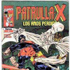 Cómics: PATRULLA X LOS AÑOS PERDIDOS Nº 3 BYRNE PALMER. Lote 113735883