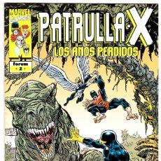 Cómics: PATRULLA X LOS AÑOS PERDIDOS Nº 2 BYRNE PALMER . Lote 113736019