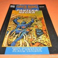 Cómics: PANTERA NEGRA, 1: LA FURIA DE LA PANTERA / CLÁSICOS MARVEL BLANCO Y NEGRO, 7 – FORUM.. Lote 113901419