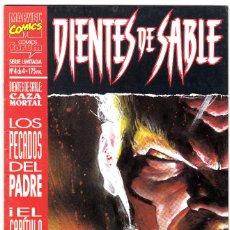 Cómics: DIENTES DE SABLE - CAZA MORTAL - Nº 4 DE 4. Lote 113980279